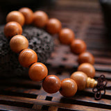 Wood Men and Women Big Beads - By Surya Shop