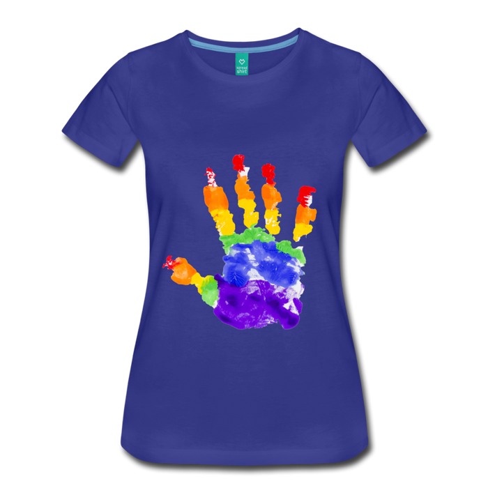 Women's Premium T-Shirt - Pride - royal blue