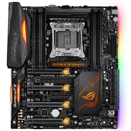 Asus ROG Rampage V Edition 10 new game board R5E support 6950X