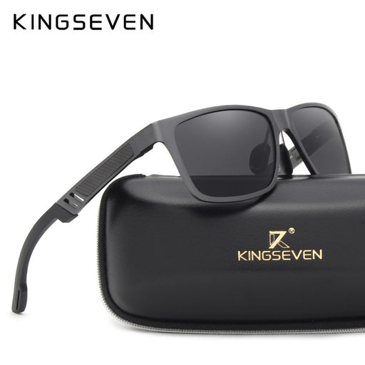KINGSEVEN 2019 Original Polarized Sunglasses Brand Aluminum Magnesium Mirror Men Sport Driving Glasses Goggles Oculos De Sol