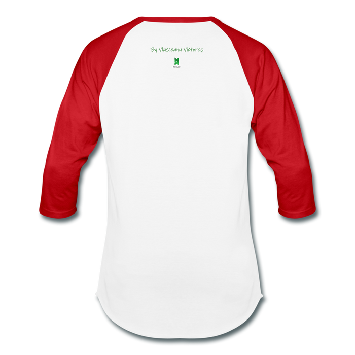 Hector Baseball T-Shirt - white/red