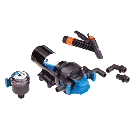 Jabsco HotShot Series Automatic High Pressure Washdown Pump - 5.0GPM-70psi-12VDC [82505-0092]