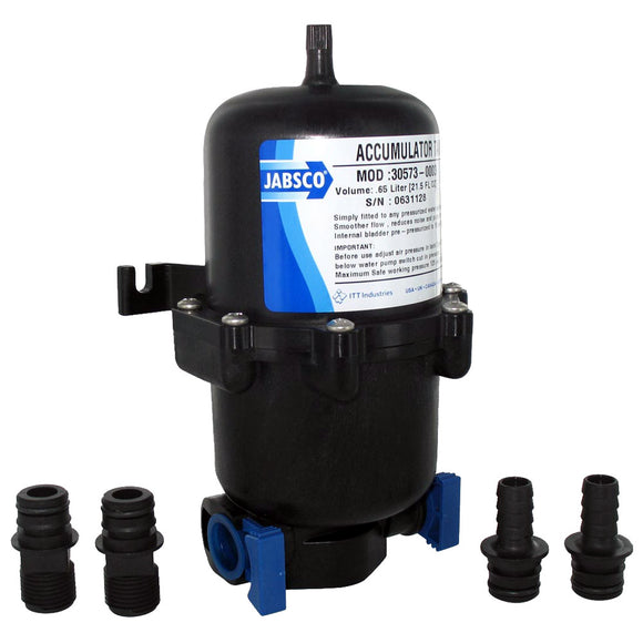 Jabsco .65L Mini Accumulator Tank w-Internal Bladder [30573-0003]