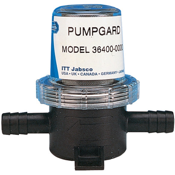 Jabsco Pumpguard In-Line Strainer - 1-2