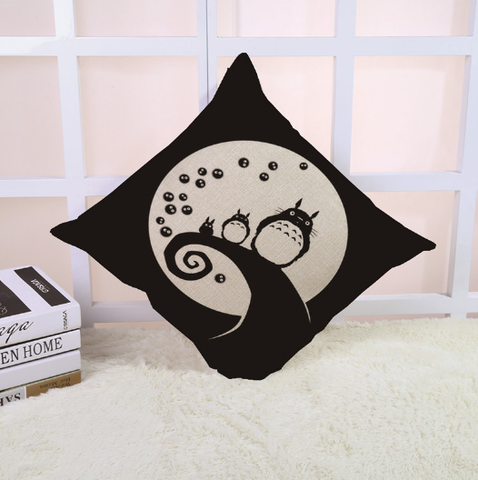 Moonlight Totoro Cushion Cover