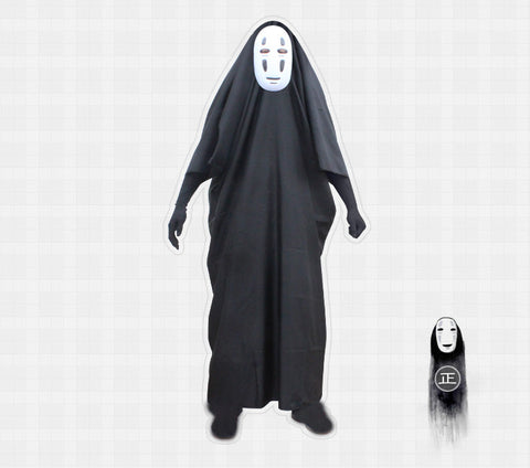 No Face Cosplay Costume Set
