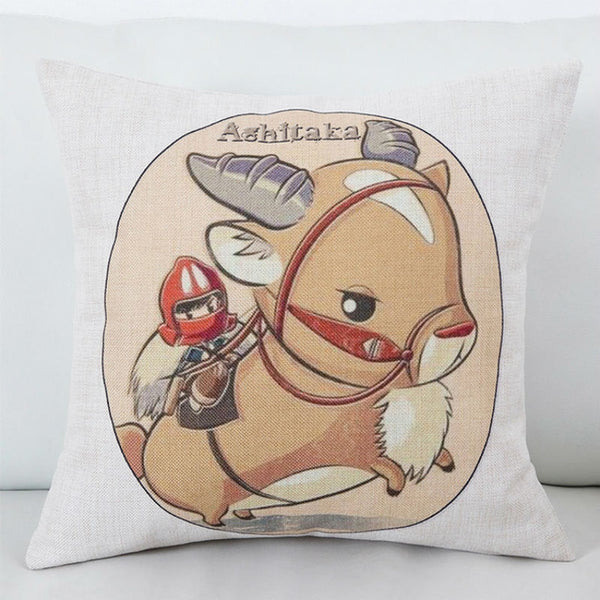 Ashitaka Cushion Cover - Studio Ghibli Shop