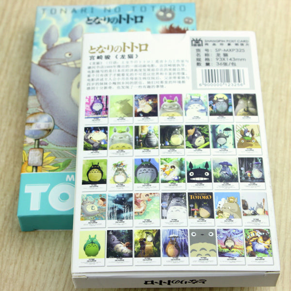 Cute Totoro Letter Gift Card - Studio Ghibli Shop