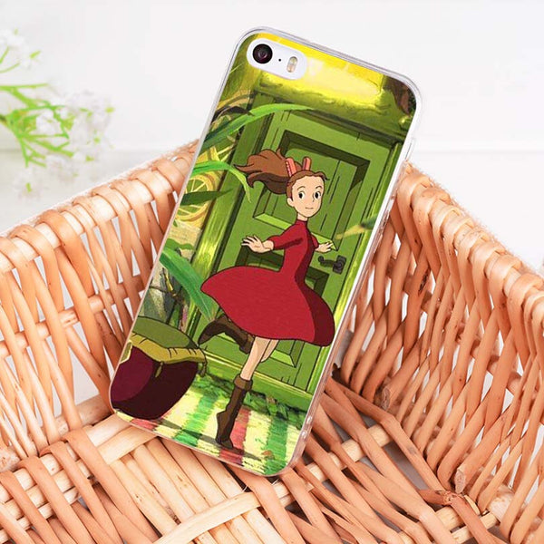Dancing Arrietty iPhone Case - Studio Ghibli Shop