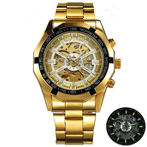 Gold/Silver Magestic Timeless Watch