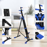 Vertical Climber Stepper 2 In 1 Exercise Fitness Foldable Climbing Machine Stair