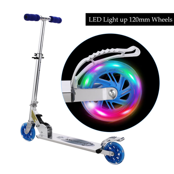 Ancheer B2 Scooter for kids with LED Light up Wheels