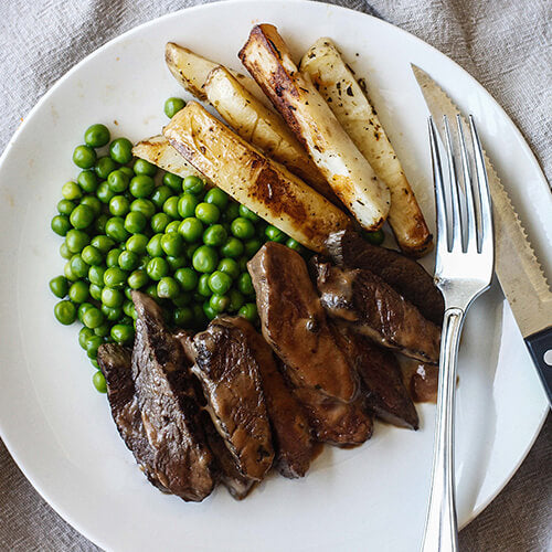 Steak Peppercorn with Chips