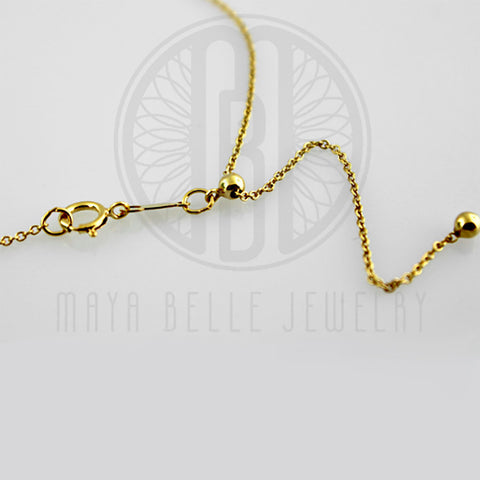"14k GF 22"" Adjustable ""Cable"" Chain"