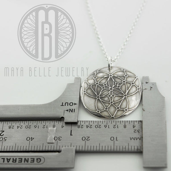 Seed of Life • Sacred Geometry pendant and necklace