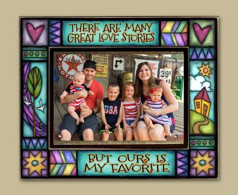 """Great Love Story..."" Picture Frame"