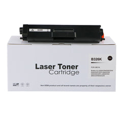 Reman Brother TN326BK Laser Toner
