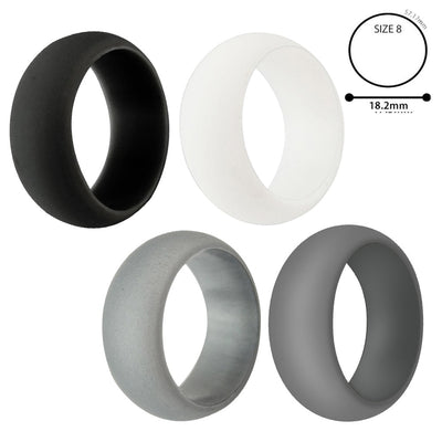Silicone Ring 4-Pack