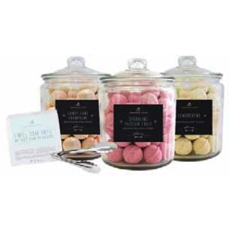 Slip into the tub and find happily every after!    Cranberry Bark Balls, Whoopie Soak, and Champagne Balls  Purchase 3 balls for $10 or 1 for $3.75