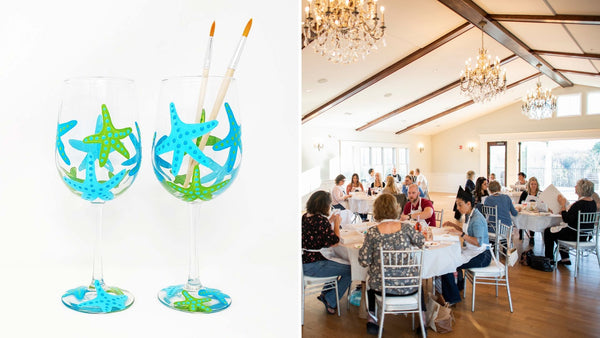 Wine Glass Paint & Sip at Brignole Vineyards in East Granby CT | 7.17.19 at 5 PM