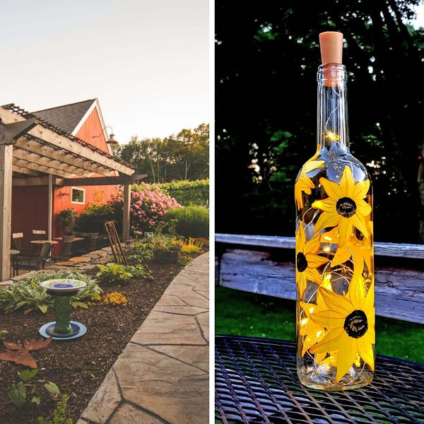 Sunflower Paint & Sip at Taylor Brooke Winery in Woodstock CT | 9.18.19 at 6:30 PM