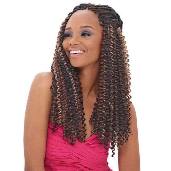 Janet Collection Crochet Braid 1 Janet Collection Crochet Braid - NOIR WATER WAVE 24""