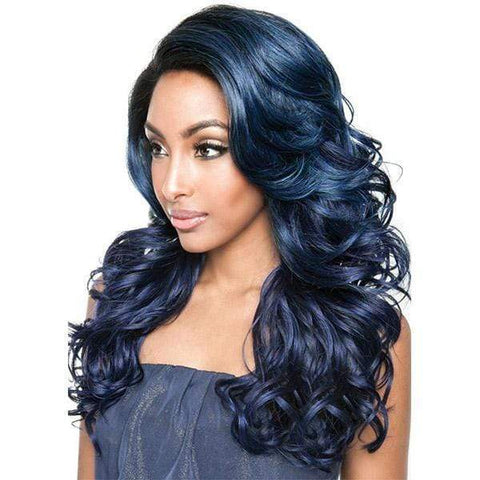 So Good Shop Human Hair Blend Lace Wigs 1 Mane Concept Brown Sugar Human Hair Blend Lace Wigs - BSG204 SOHO