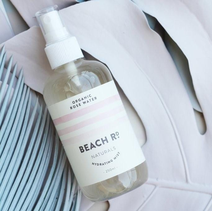 Beach Rd Naturals Organic Rose Water Hydrating Mist