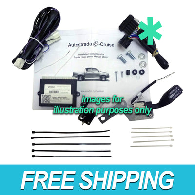 Autostrada Cruise Control Kit Ford Ranger 2.5L 3.0L with Airbag FO05O OEM Stalk