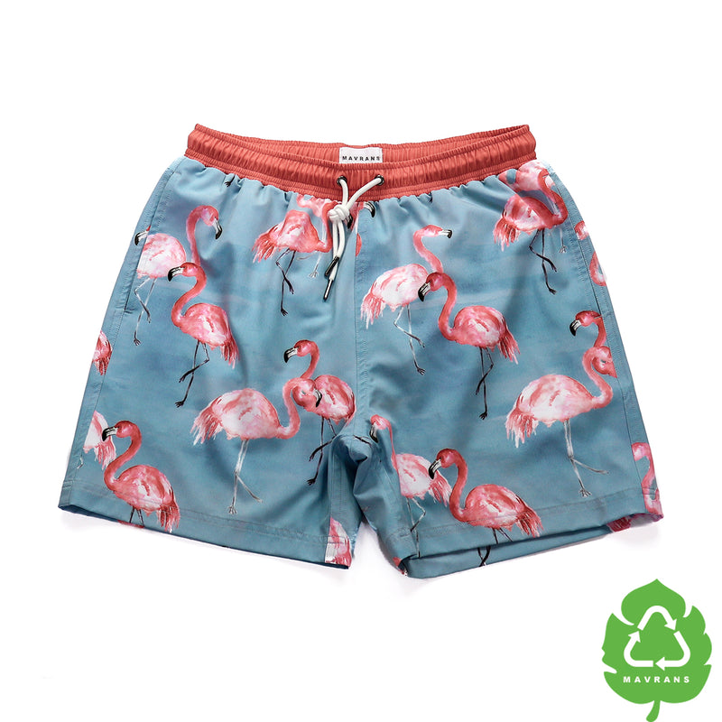 FLA Mingle 5 Inch Stretch Swim Trunks