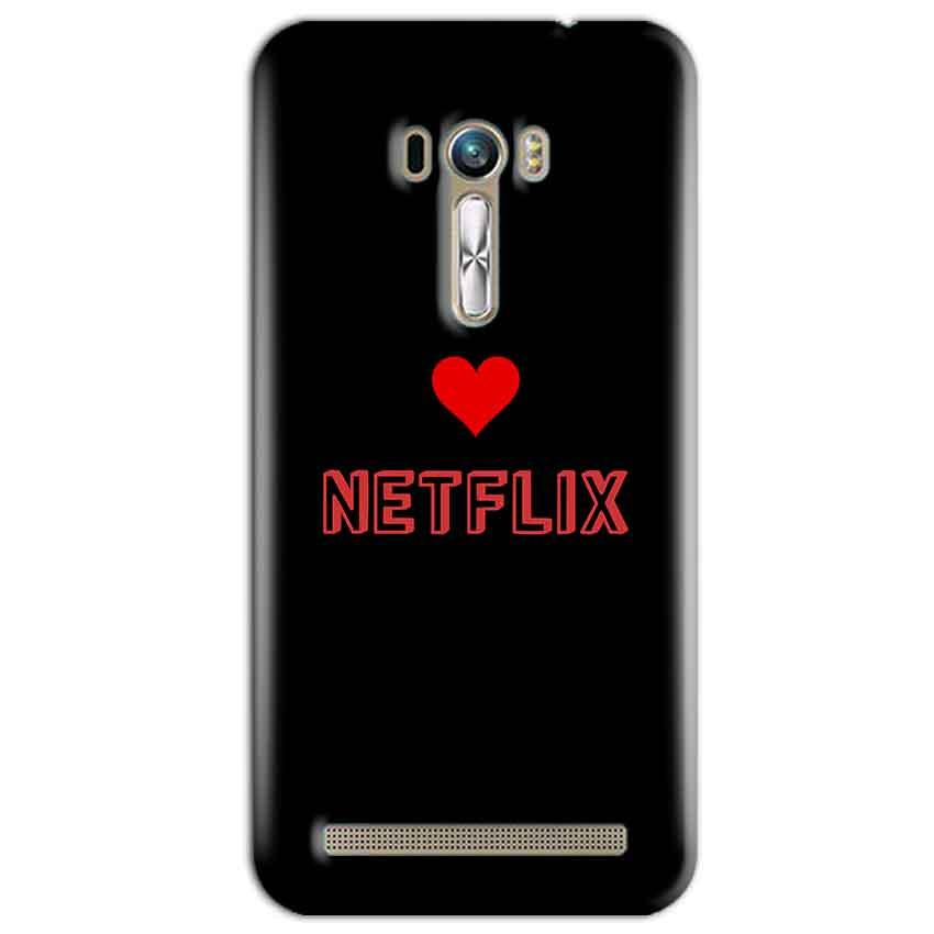 ASUS Zenfone Selfie Mobile Covers Cases NETFLIX WITH HEART - Lowest Price - Paybydaddy.com