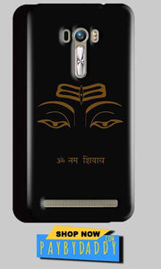 ASUS Zenfone Selfie Mobile Covers Cases Om Namaha Gold Black - Lowest Price - Paybydaddy.com