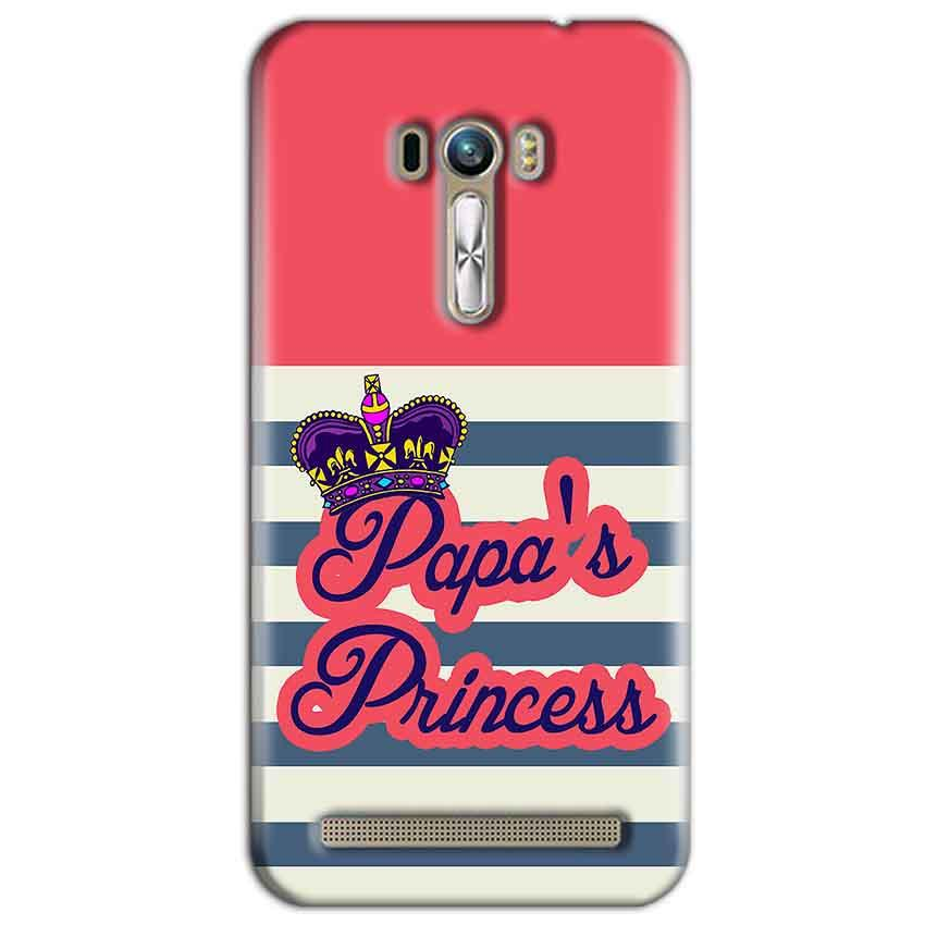 ASUS Zenfone Selfie Mobile Covers Cases Papas Princess - Lowest Price - Paybydaddy.com
