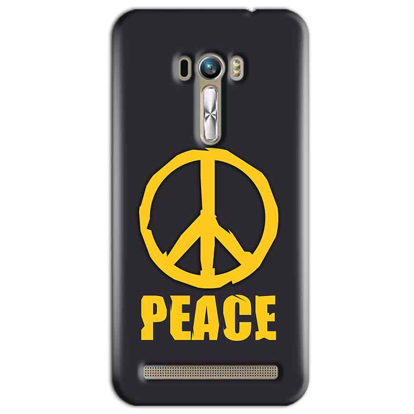 ASUS Zenfone Selfie Mobile Covers Cases Peace Blue Yellow - Lowest Price - Paybydaddy.com