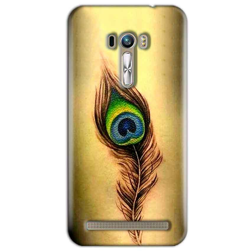 ASUS Zenfone Selfie Mobile Covers Cases Peacock coloured art - Lowest Price - Paybydaddy.com