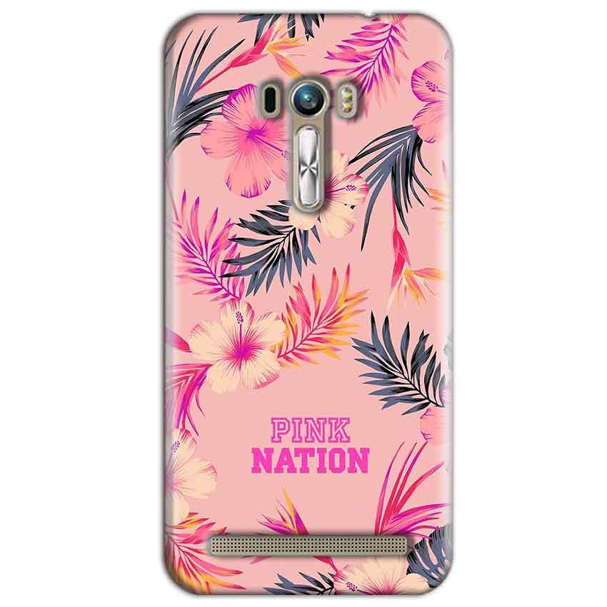 ASUS Zenfone Selfie Mobile Covers Cases Pink nation - Lowest Price - Paybydaddy.com