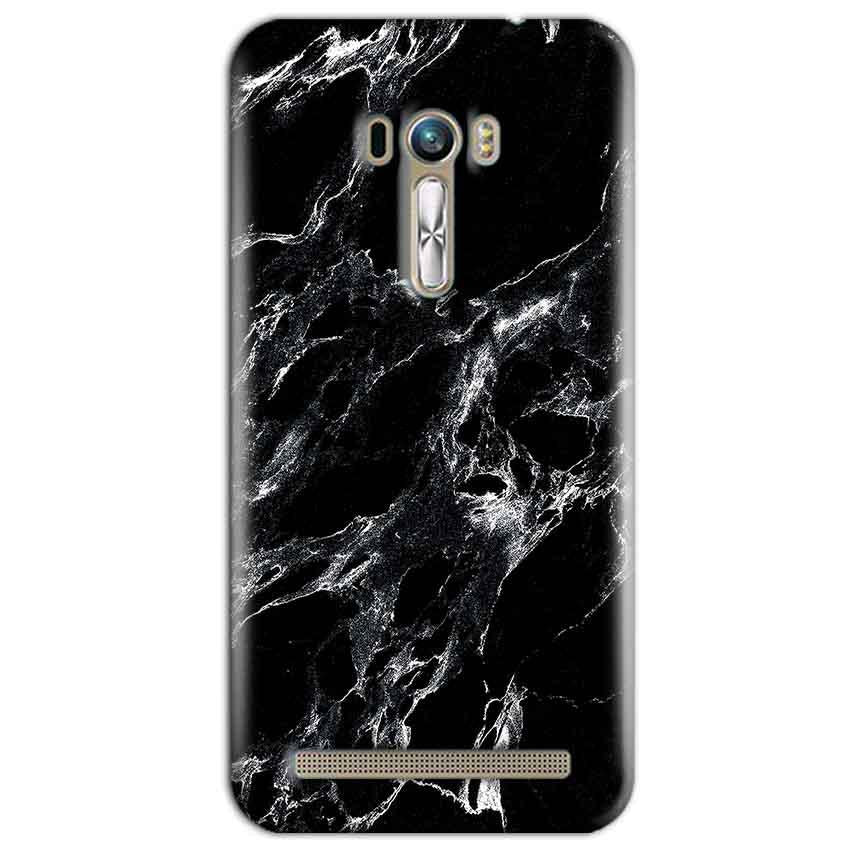 ASUS Zenfone Selfie Mobile Covers Cases Pure Black Marble Texture - Lowest Price - Paybydaddy.com