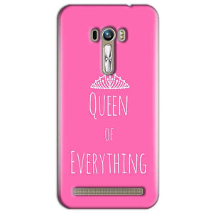 ASUS Zenfone Mobile Covers Cases Selfie Mobile Covers Cases Queen Of Everything Pink White - Lowest Price - Paybydaddy.com