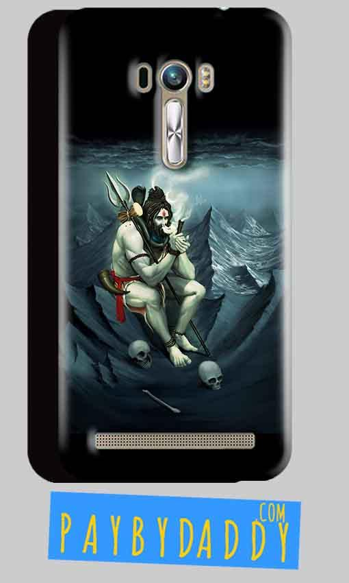 ASUS Zenfone Selfie Mobile Covers Cases Shiva Smoking - Lowest Price - Paybydaddy.com
