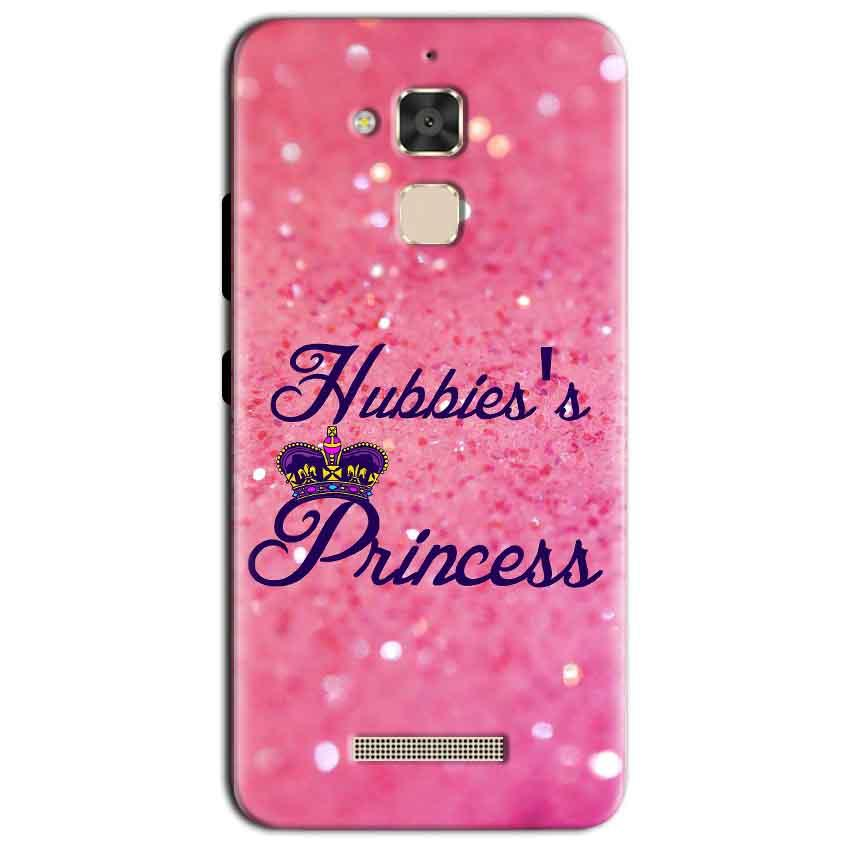 Asus Zenfone 3 Max Mobile Covers Cases Hubbies Princess - Lowest Price - Paybydaddy.com