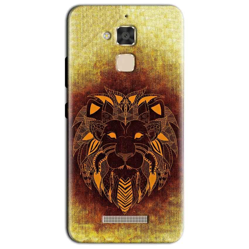 Asus Zenfone 3 Max Mobile Covers Cases Lion face art - Lowest Price - Paybydaddy.com