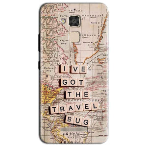 Asus Zenfone 3 Max Mobile Covers Cases Live Travel Bug - Lowest Price - Paybydaddy.com