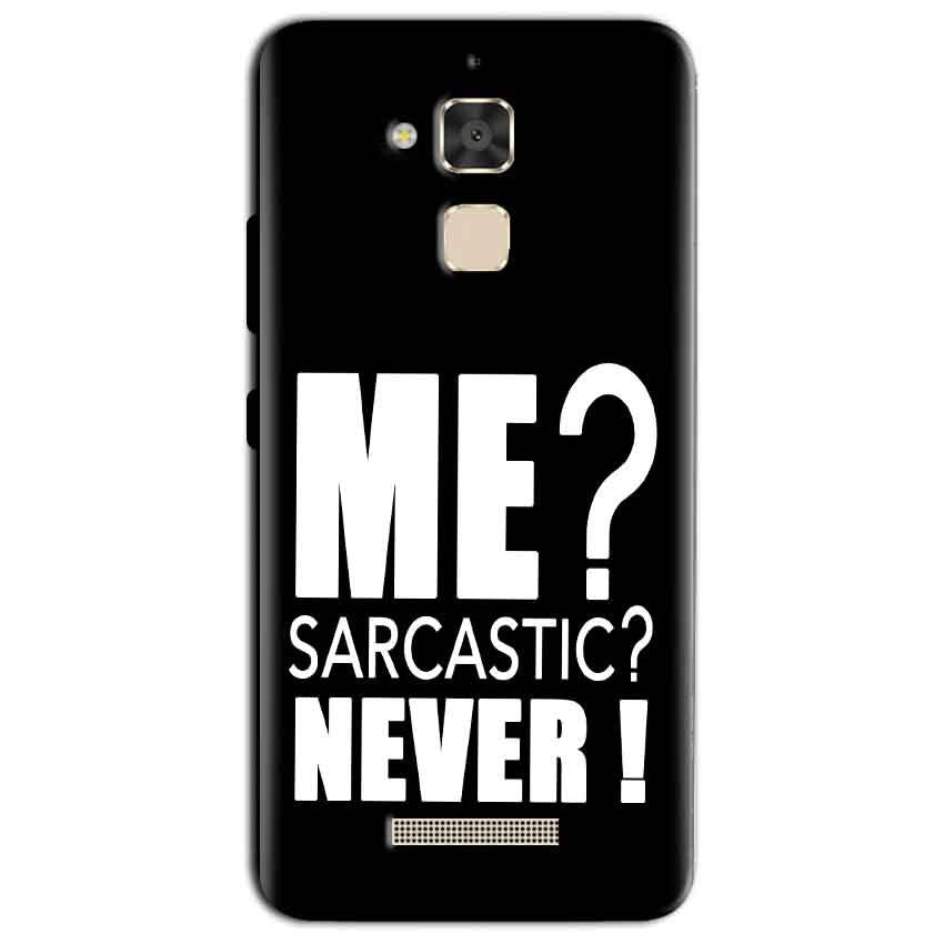 Asus Zenfone 3 Max Mobile Covers Cases Me sarcastic - Lowest Price - Paybydaddy.com