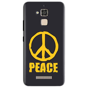 Asus Zenfone 3 Max Mobile Covers Cases Peace Blue Yellow - Lowest Price - Paybydaddy.com
