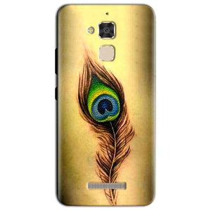 Asus Zenfone 3 Max Mobile Covers Cases Peacock coloured art - Lowest Price - Paybydaddy.com