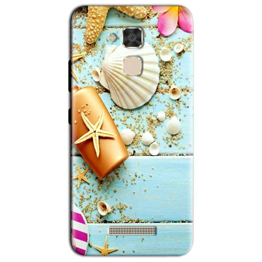 Asus Zenfone 3 Max Mobile Covers Cases Pearl Star Fish - Lowest Price - Paybydaddy.com