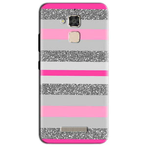 Asus Zenfone 3 Max Mobile Covers Cases Pink colour pattern - Lowest Price - Paybydaddy.com