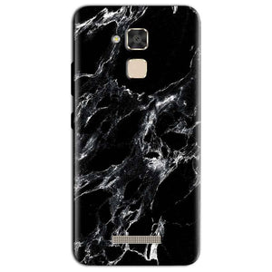 Asus Zenfone 3 Max Mobile Covers Cases Pure Black Marble Texture - Lowest Price - Paybydaddy.com