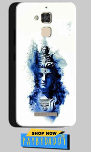 Asus Zenfone 3 Max Mobile Covers Cases Shiva Blue White - Lowest Price - Paybydaddy.com