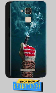 Asus Zenfone 3 Max Mobile Covers Cases Shiva Hand With Clilam - Lowest Price - Paybydaddy.com